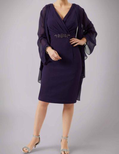 Aubergine Suit