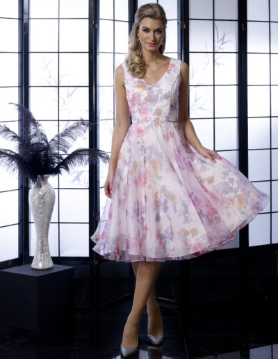 VO5354 PINK VEROMIA OCCASIONS DRESS