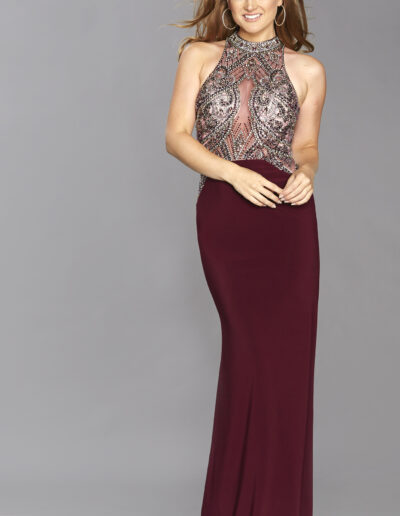 wine Prom dress Taunton