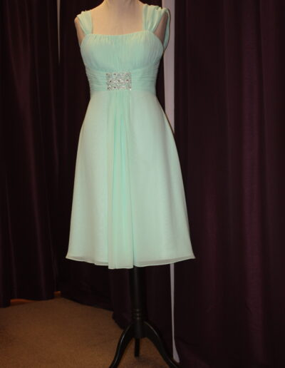 bridesmaid dress mint green