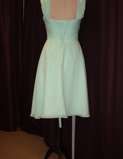 bridesmaid dress mint green